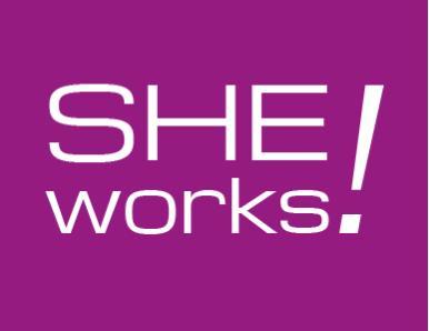 Logo She works!