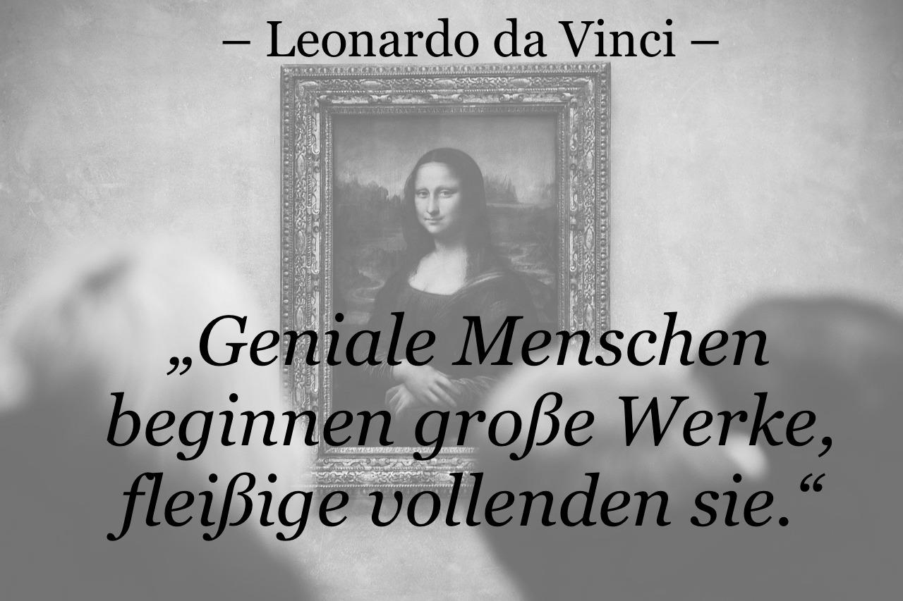 Zitat Da Vinci