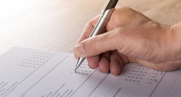 Schriftliche Umfrage