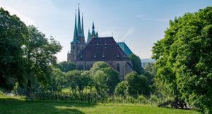 Aufnahme der Erfurter Kathedrale