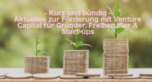 Drei Geldhaufen, aus denen eine Pflanze wächst